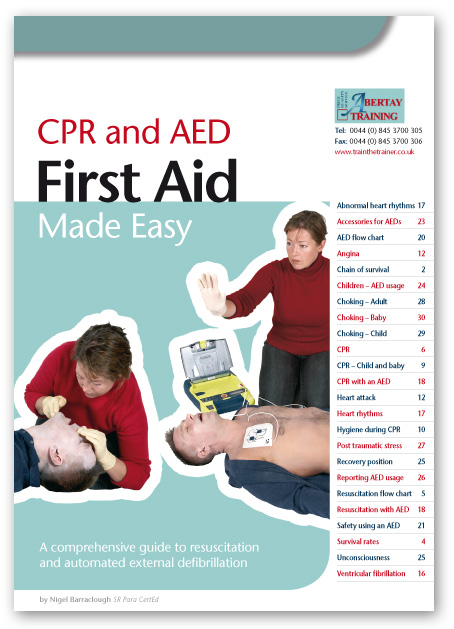 AED & CPR Books