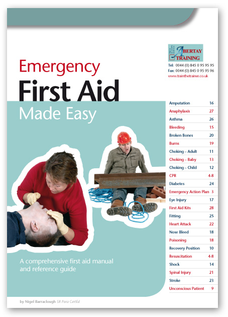 Emergency first aid books