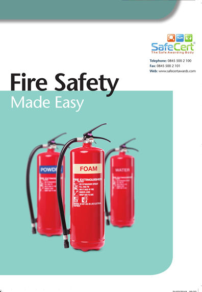fire safety book