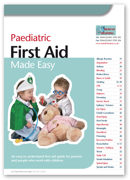 Peadiatric first aid books